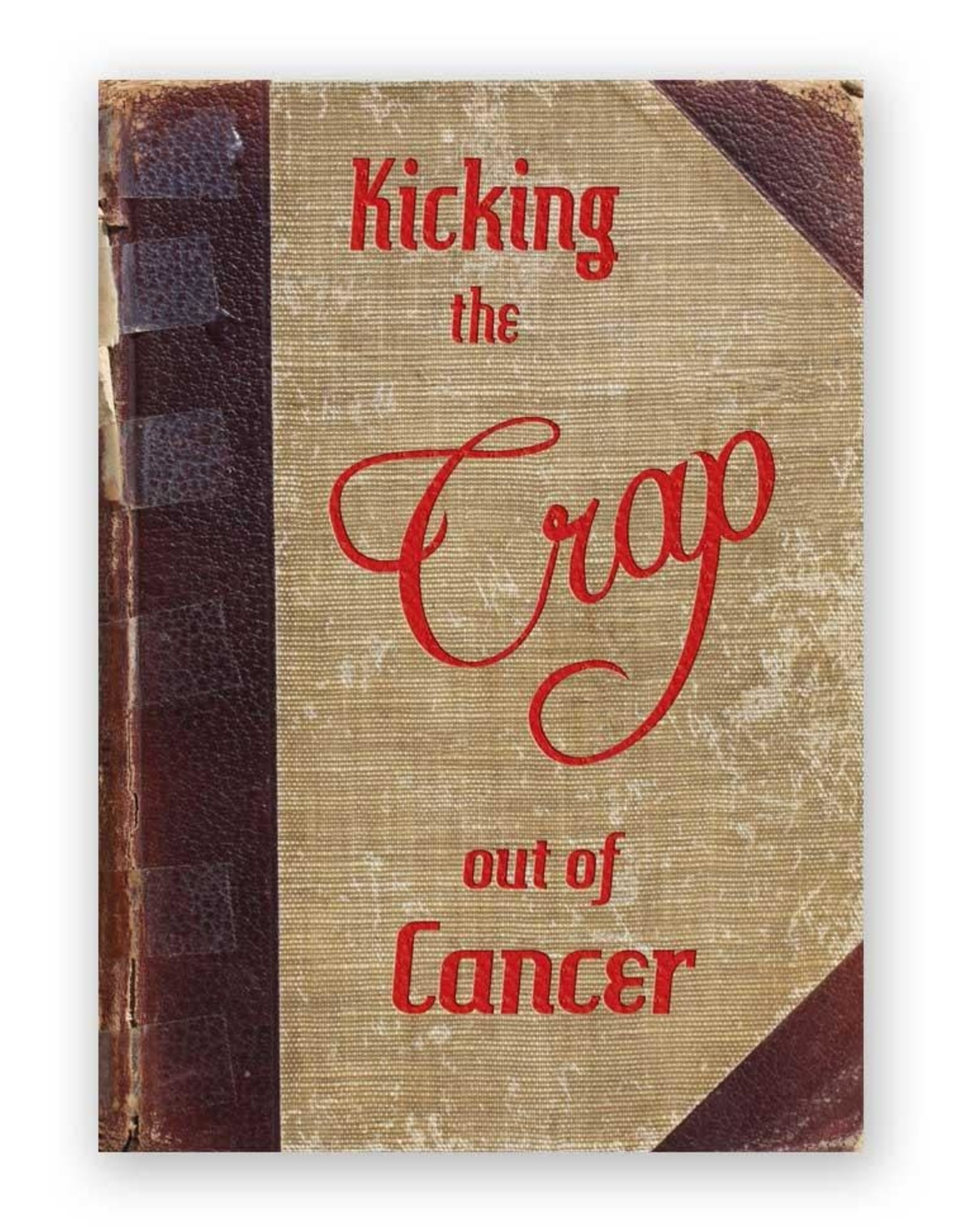 """Mincing Mockingbird """"Kicking the Crap Out of Cancer"""" Greeting Card - The Frantic Meercat"""