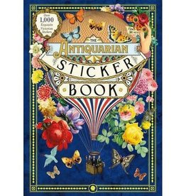 """The Antiquarian Sticker Book"" by Odd Dot"