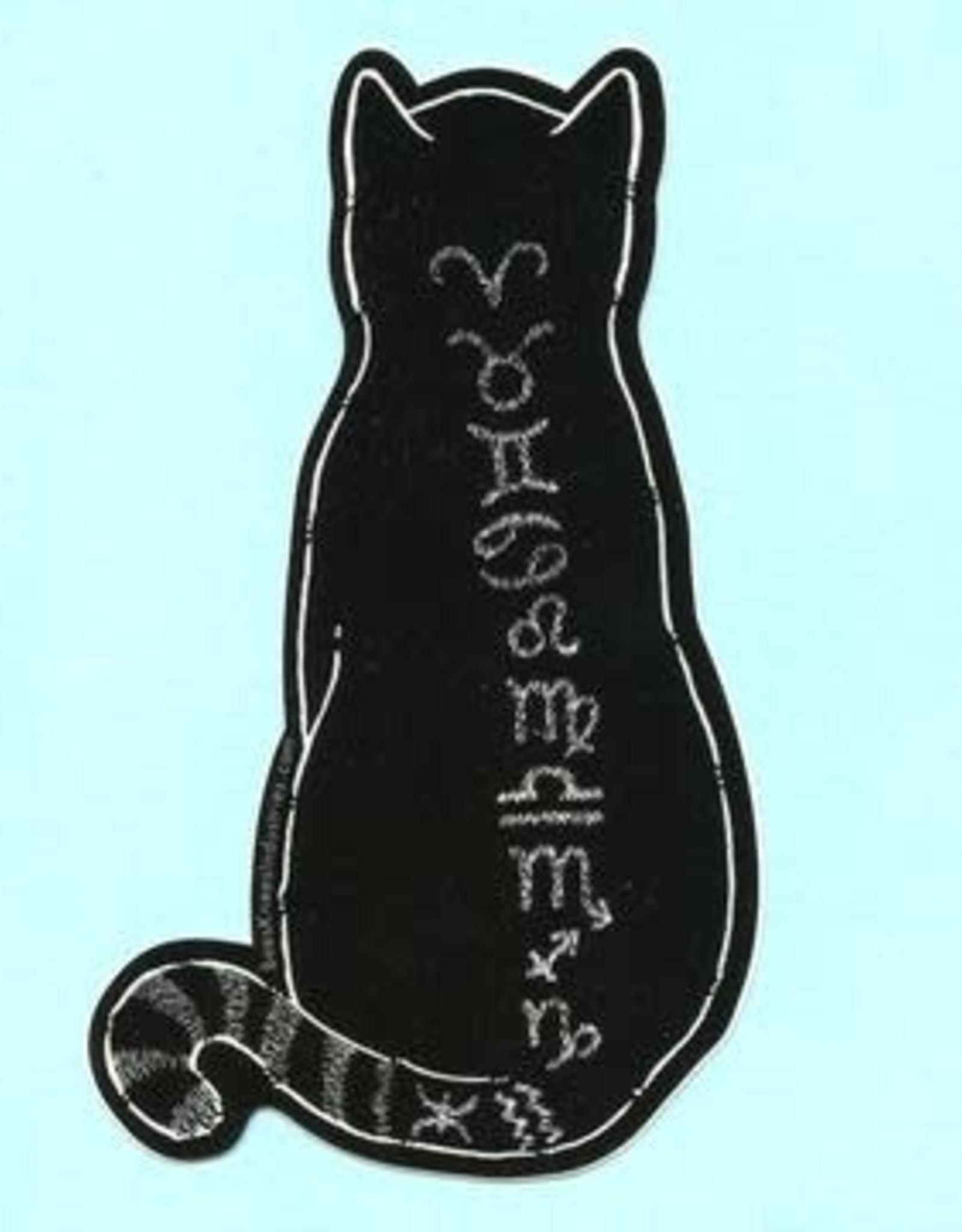 Bee's Knees Industries Zodiac Cat Sticker - Bee's Knees