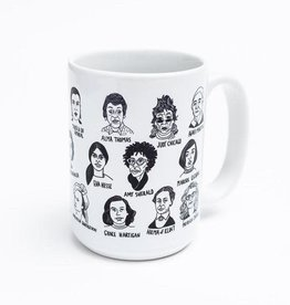 Women Artists Ceramic Mug by Culture Flock