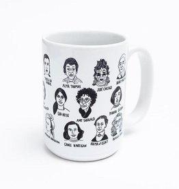 Women Artists Ceramic Mug by Culture Flock