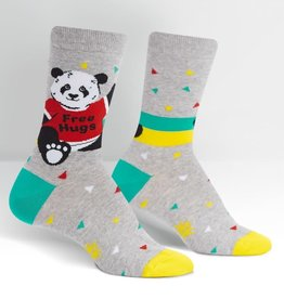 Free Hugs Panda Bear - Women's Crew Socks