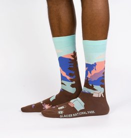 Glacier National Park - Men's Crew Socks
