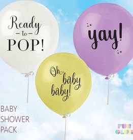 Welcome Tiny Human, Baby Shower Balloons