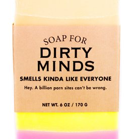 """Whiskey River Soap Co. Soap for """"Dirty Minds"""" by Whiskey River Soap Co."""