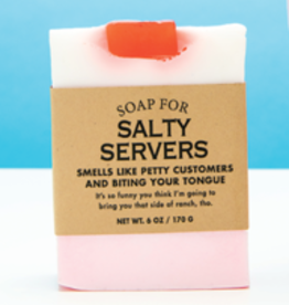 "Whiskey River Soap Co. Soap for ""Salty Servers"" by Whiskey River Soap Co."