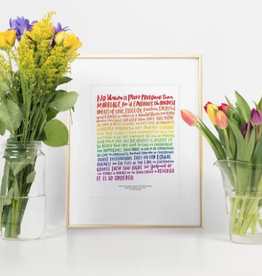 Emily McDowell Love Wins Print; Emily McDowell