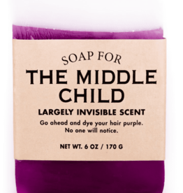 "Whiskey River Soap Co. Soap for ""The Middle Child"" by Whiskey River Soap Co."