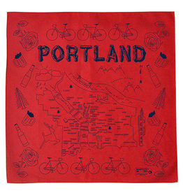 Maptote Portland Bandana in Red by Maptote