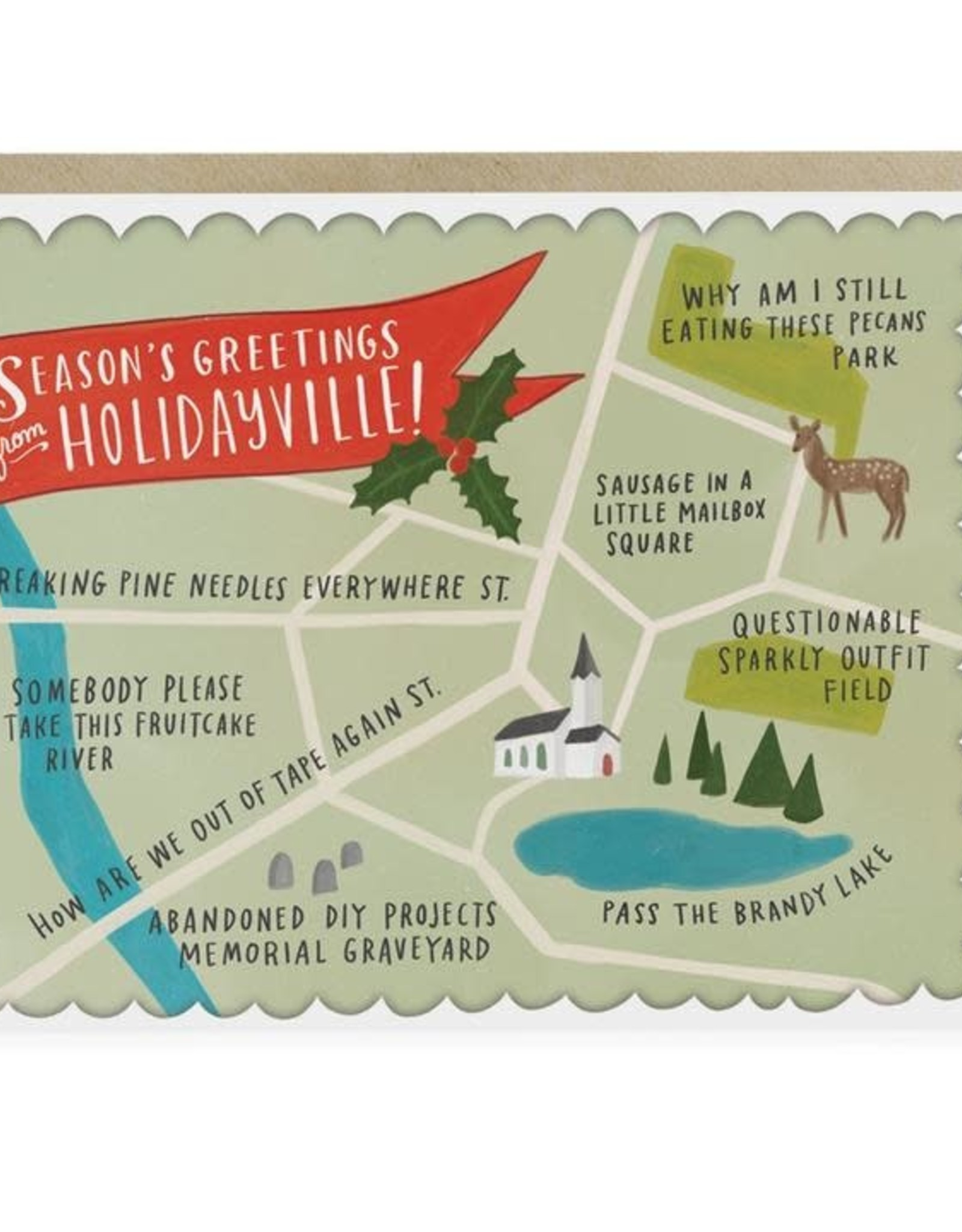 """Emily McDowell """"Season's Greetings from Holidayville!"""" Box Set by Emily McDowell"""