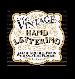 """Vintage Hand Lettering"" by Lisa Quine"