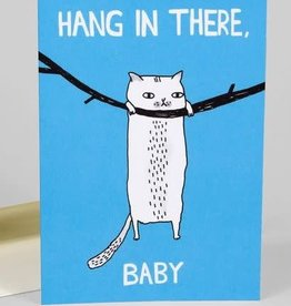 """Hang In There, Baby"" Sympathy Greeting Card - Gemma Correll"