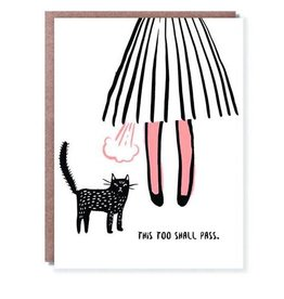 """This Too Shall Pass"" Sympathy Greeting Card - Hello Lucky"