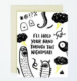 """I'll Hold Your Hand"" Sympathy Greeting Card - Hello Lucky!"