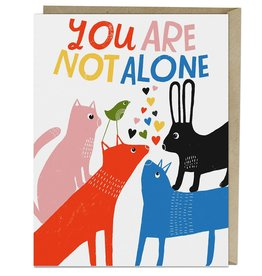"Emily McDowell ""You Are Not Alone"" Sympathy Greeting Card - Emily McDowell"