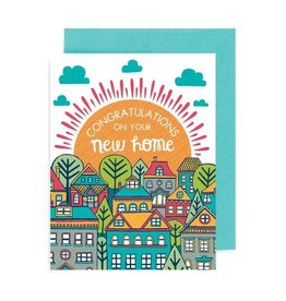 "Allison Cole ""Congratulations on Your New Home"" Greeting Card - Allison Cole"