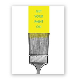 "Mincing Mockingbird ""Get Your Paint On"" New Home Greeting Card by Mincing Mockingbird"