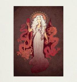 """Dragon Mother"" Art Print by Megan Lara"