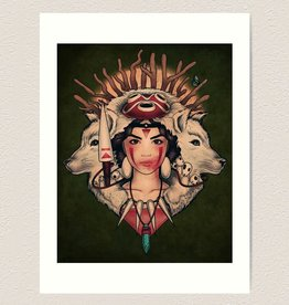"""Spirit Princess"" Art Print by Megan Lara"