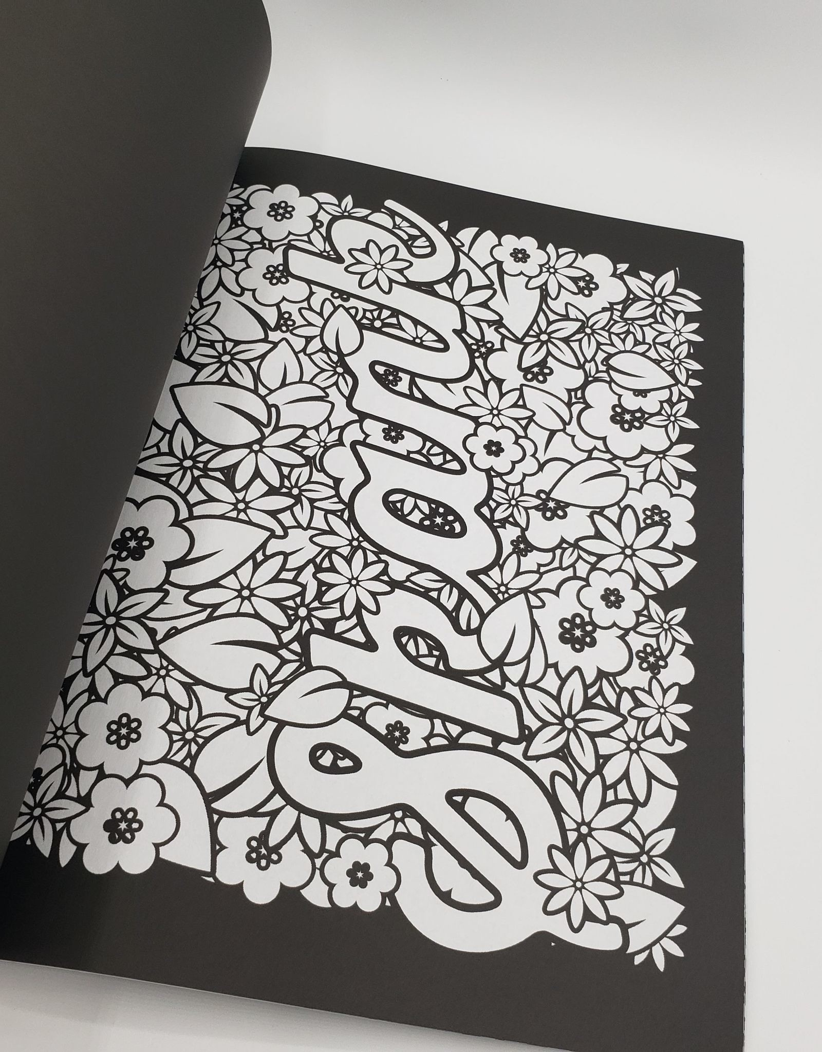 """""""Release Your Inner Anger"""" Coloring Book: Midnight Edition, Swear Words To Color Your Anger Away"""