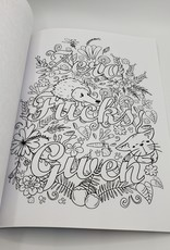 """""""Memos To Shitty People""""; A Delightful and Vulgar Adult Coloring Book"""