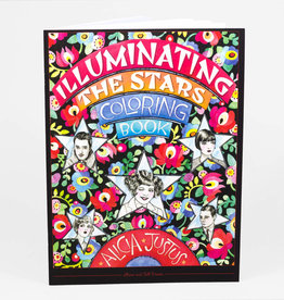 """Illuminating the Stars"" Coloring Book by Alicia Justus"