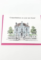 "Mincing Mockingbird ""Congratulations on Your New Home!"" Greeting Card by Mincing Mockingbird"