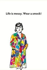 """Seltzer """"Life Is Messy'' Sympathy Greeting Card - Seltzer"""