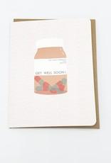 """Get Well Soon!"" Greeting Card - Carolyn Suzuki"