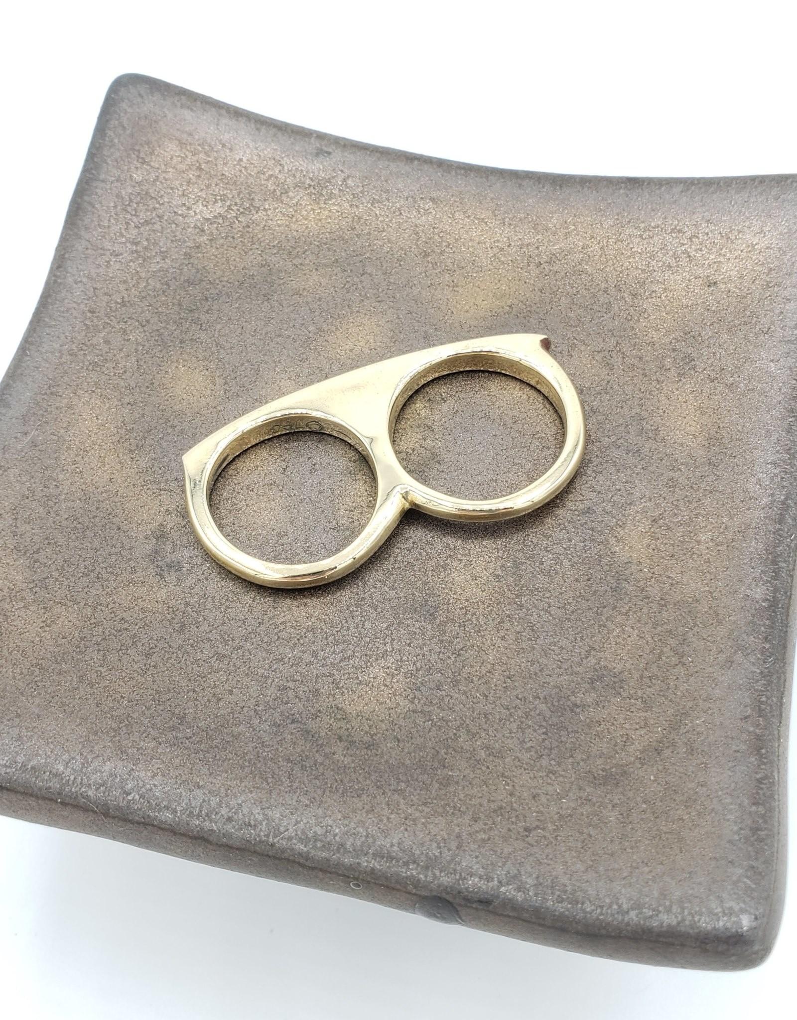 Redux Double Finger Ring