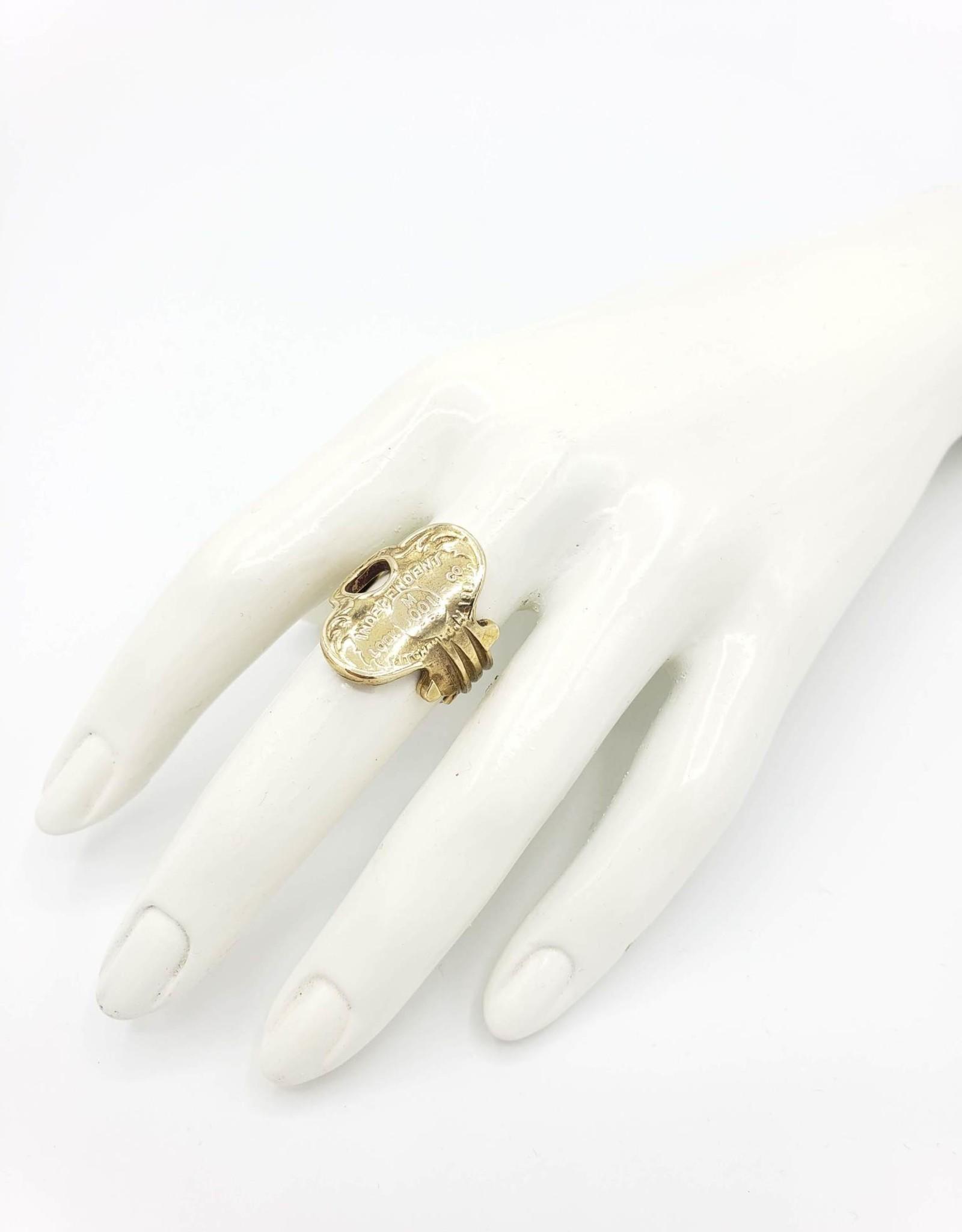 "Redux Vintage Key Ring ""Independent"""