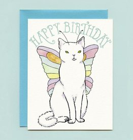 "Bee's Knees Industries ""Catterfly"" Birthday Greeting Card - Bee's Knees"