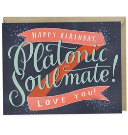 "Emily McDowell ""Platonic Soulmate"" Birthday Greeting Card - Emily McDowell"