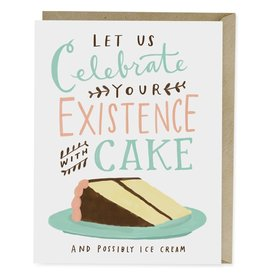 "Emily McDowell ""Celebrate Your Existence"" Birthday Greeting Card - Emily McDowell"
