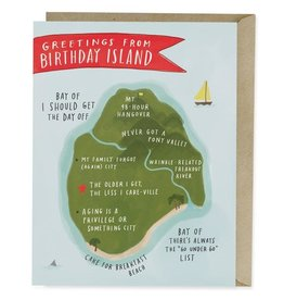 "Emily McDowell ""Greetings From Birthday Island"" Birthday Greeting Card - Emily McDowell"