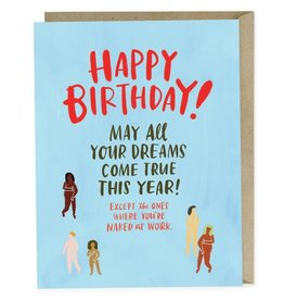 "Emily McDowell ""Naked At Work"" Birthday Greeting Card - Emily McDowell"