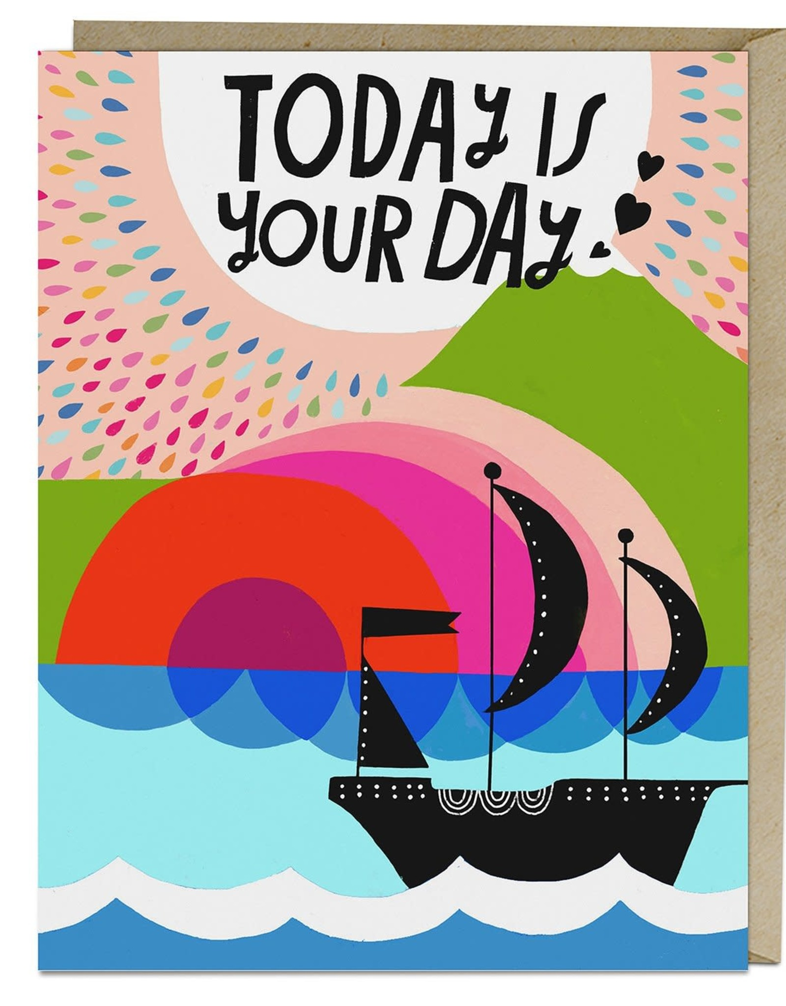 """Emily McDowell """"Today is Your Day"""" Birthday Greeting Card - Emily McDowell"""