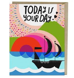 "Emily McDowell ""Today is Your Day"" Birthday Greeting Card - Emily McDowell"