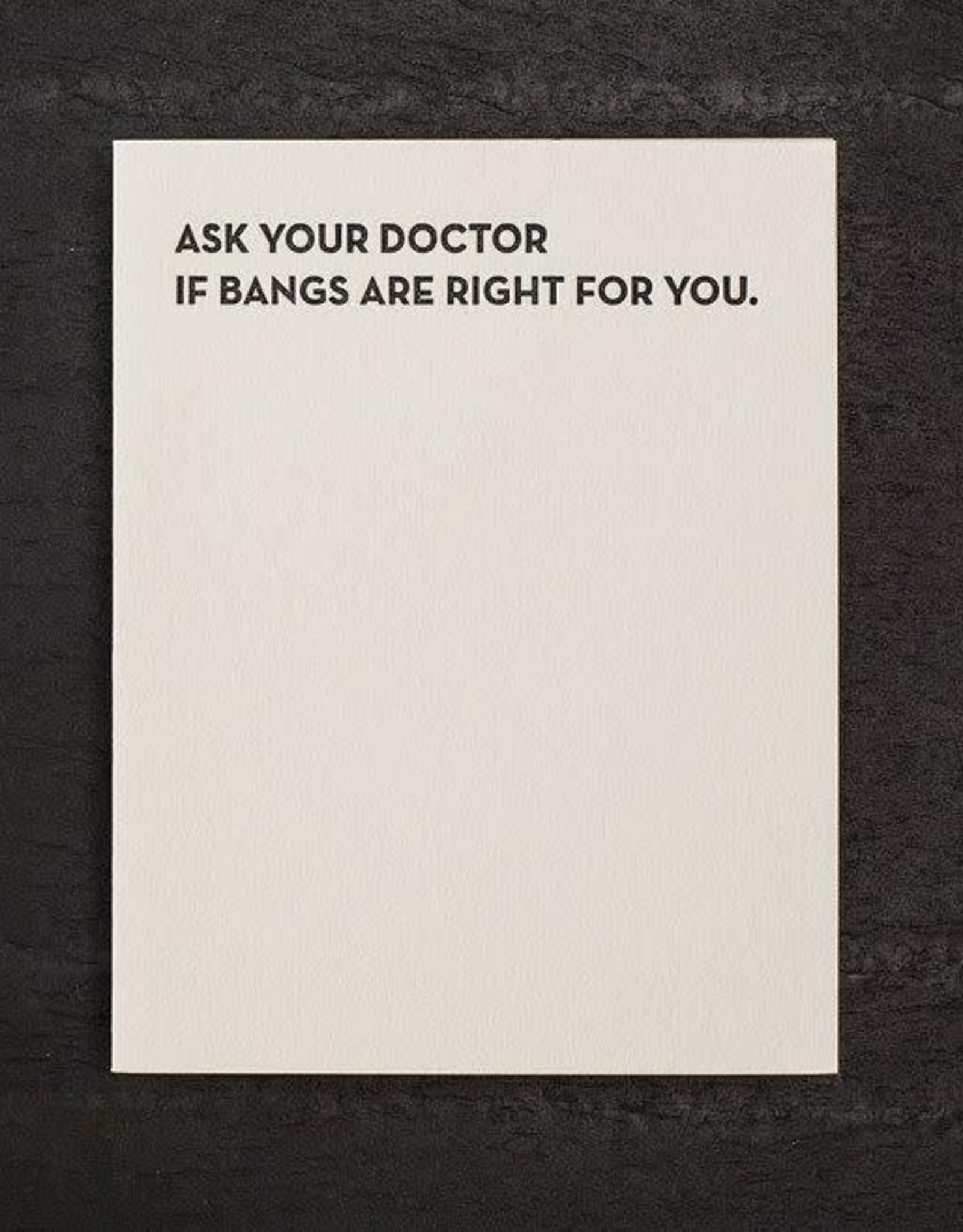 """""""Ask Your Doctor'' Greeting Card - Sapling Press"""