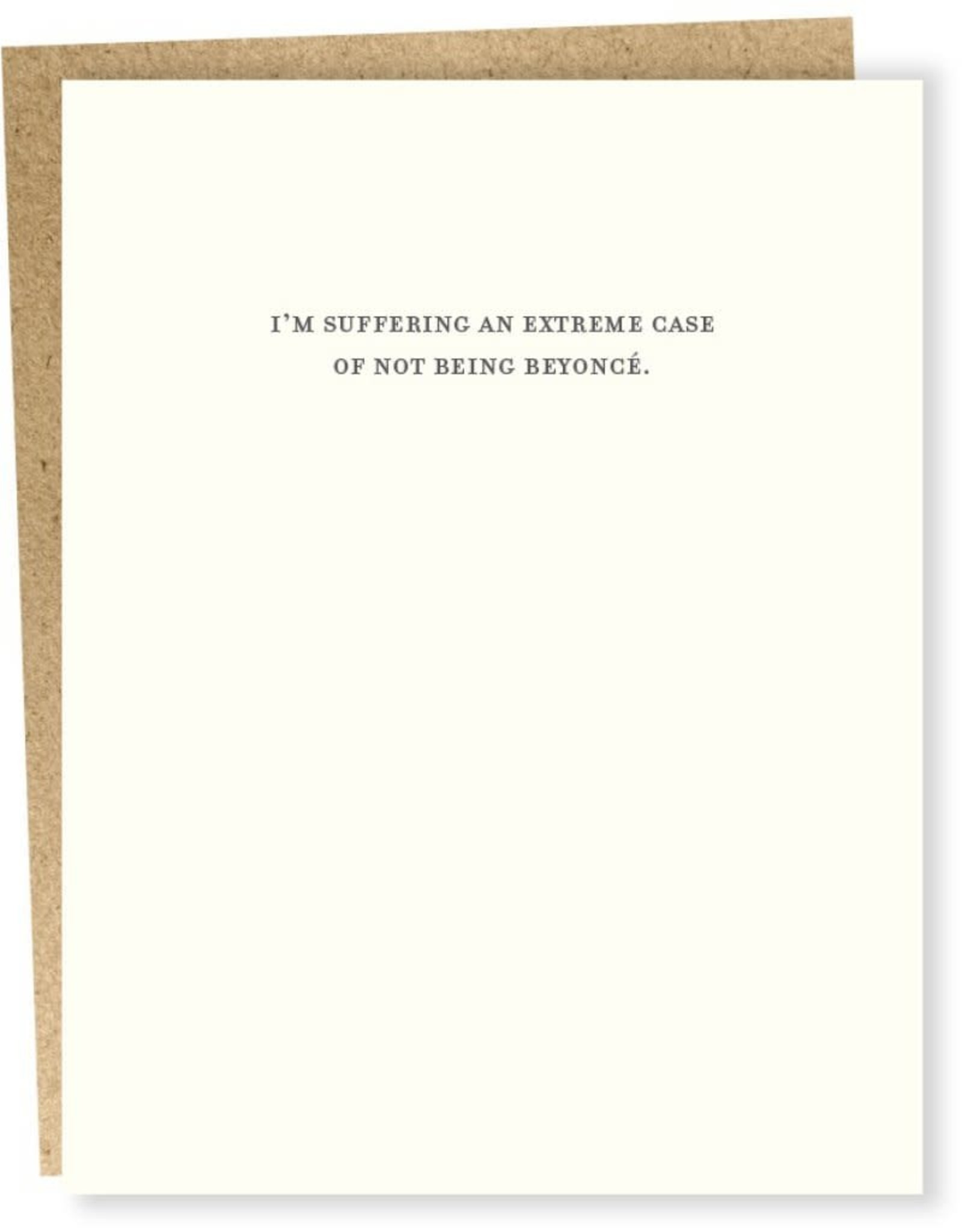 """""""Suffering From an Extreme Case'' Greeting Card - Sapling Press"""