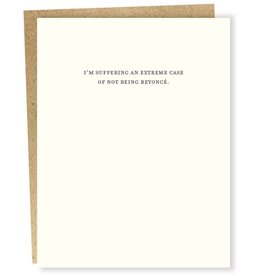 """Suffering From an Extreme Case'' Greeting Card - Sapling Press"