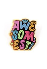 """Valley Cruise Press """"Congrats on Being so Awesome"""" Greeting Card + Enamel Pin - Valley Cruise Press"""