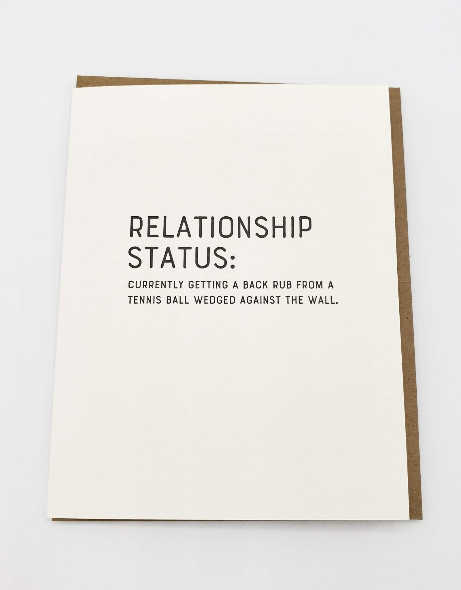 """""""Relationship Status'' Greeting Card - Sapling Press"""