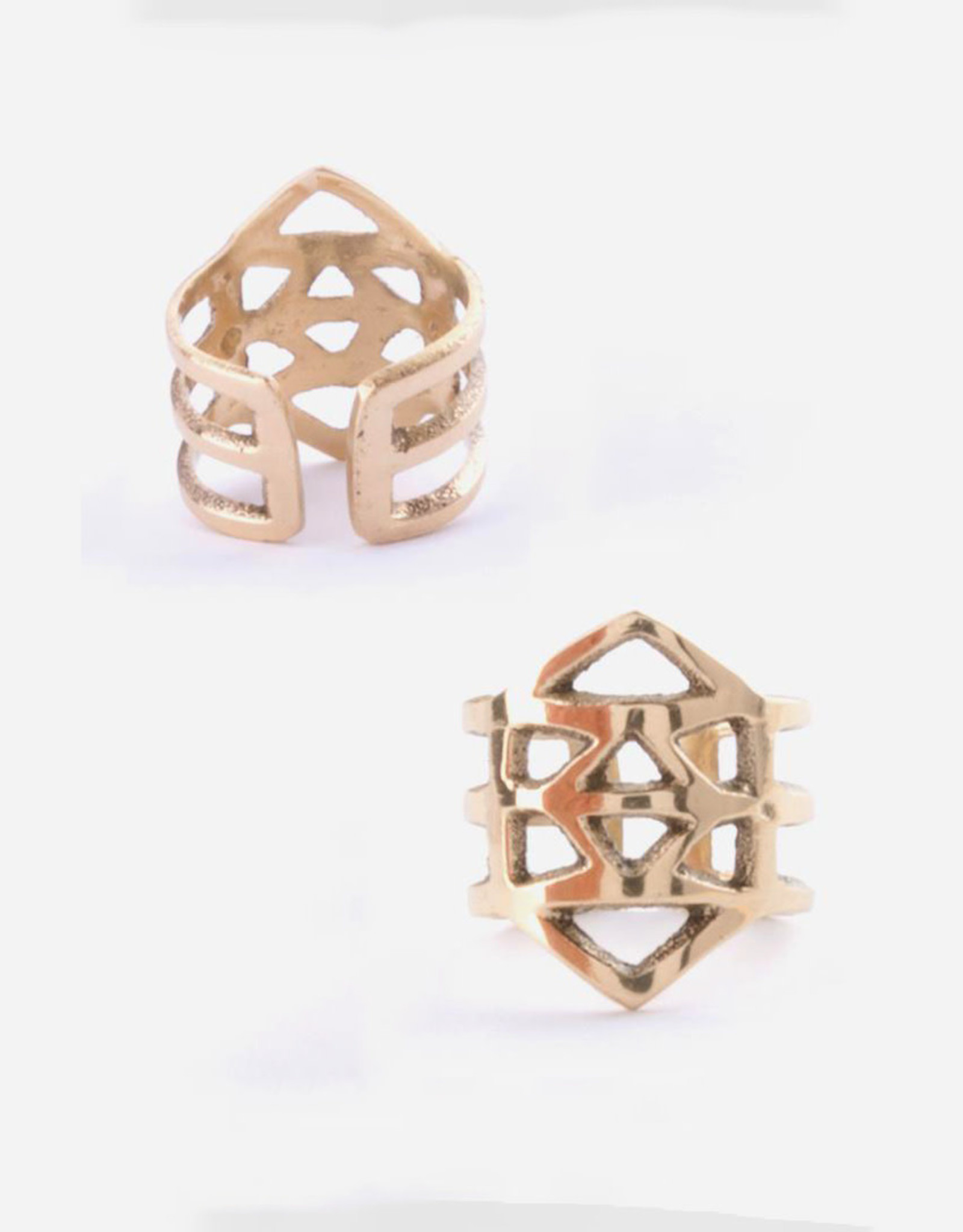 Mata Traders Essos Adjustable Cutout Ring - Mata Traders