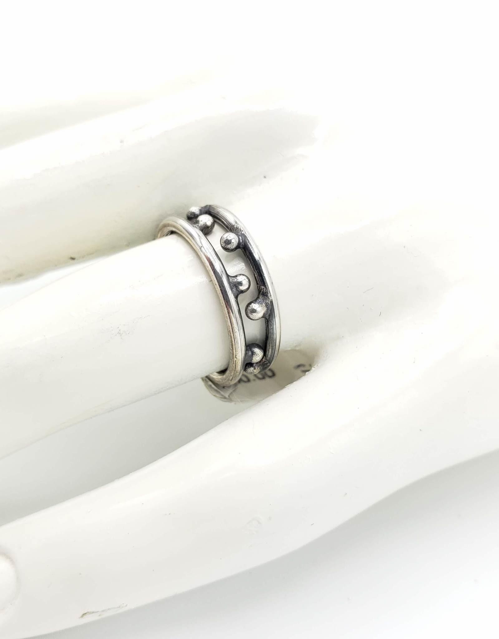 Nabi Stacking Ring Pair, Sterling Silver