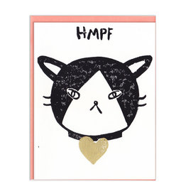 HMPF Cat Greeting Card - Ghost Academy