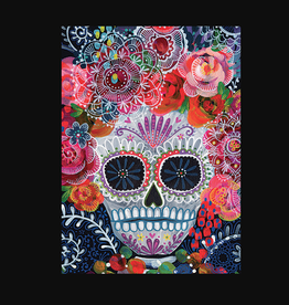 """Day of the Dead"" Calaveras Greeting Card - Calypso"