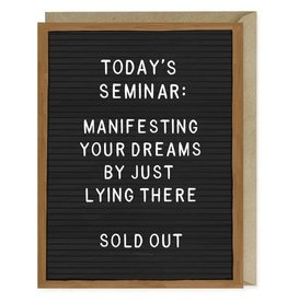 "Emily McDowell ""Manifesting Your Dreams"" Greeting Card - Emily McDowell"