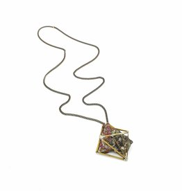 DNA Galleries Rainbow Rock Constellation Necklace