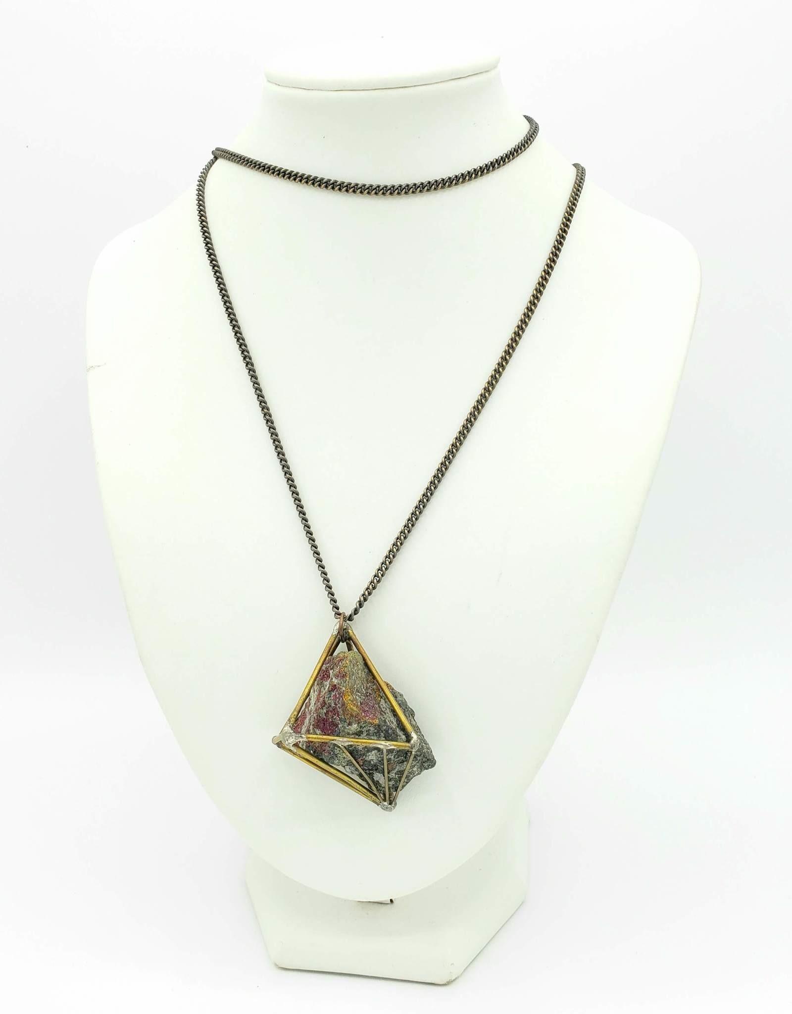 DNA Galleries Rainbow Rock Constellation Necklace